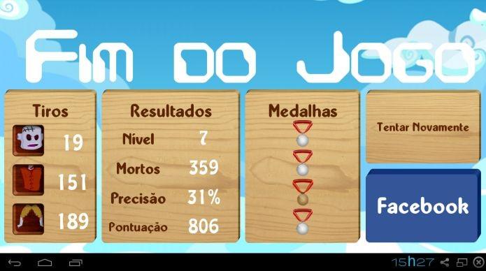 Zumbis dOeste funciona apenas em Android e Facebook (Foto: Divulgação)