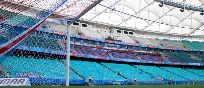 Bahia x Santa Cruz Arena Fonte Nova (Foto: Antônio Carneiro / Pernambuco Press)
