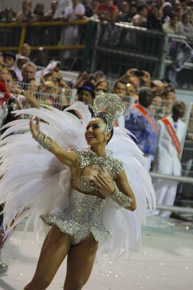 Sabrina Sato em SP (Foto: Milene Cardoso / AgNews)