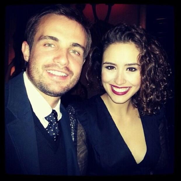 Max Fercondini e Amanda Ritcher (Foto: Reprodução/Instagram)