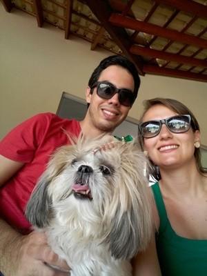 Para Leandro, a ausência de Mel era a maior tristeza do casal (Foto: Leandro Pinheiro/ Arquivo Pessoal)