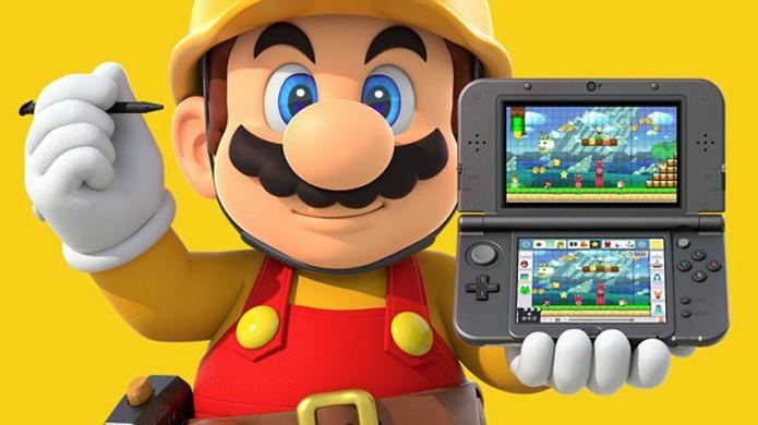 Super Mario Maker irá ganhar versão para o Nintendo 3DS (Foto: Reprodução/Gematsu)