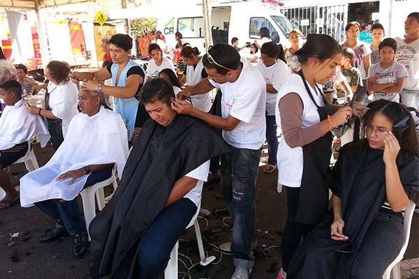 Integração Bairro em Uberaba foi realizado na Praça Central.  (Foto: Divulgação)