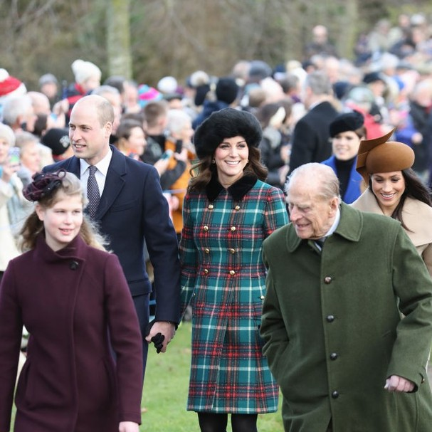 Missa da família real britânica (Foto: Getty Images )