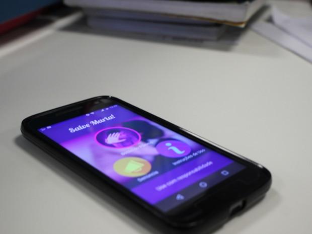 Aplicativo será ferramenta de apoio no combate à violência contra a mulher e o feminicídio (Foto: Júnior Feitosa/G1)