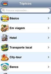 Voltado para turistas, o Tradutor de Viagem traduz para 29 idiomas. (Foto: Reprodução)
