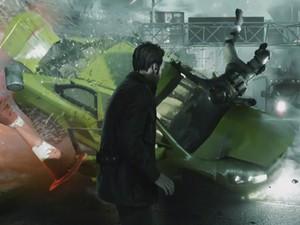 Cena de 'Quantum Break' mostra protagonista manipulando o tempo para interagir com os cenários (Foto: Reprodução/YouTube/XboxUK)