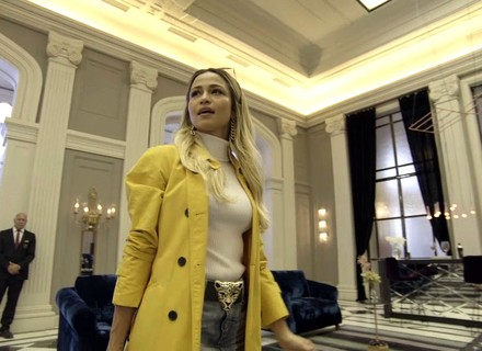 Sandra Helena se hospeda no Carioca Palace