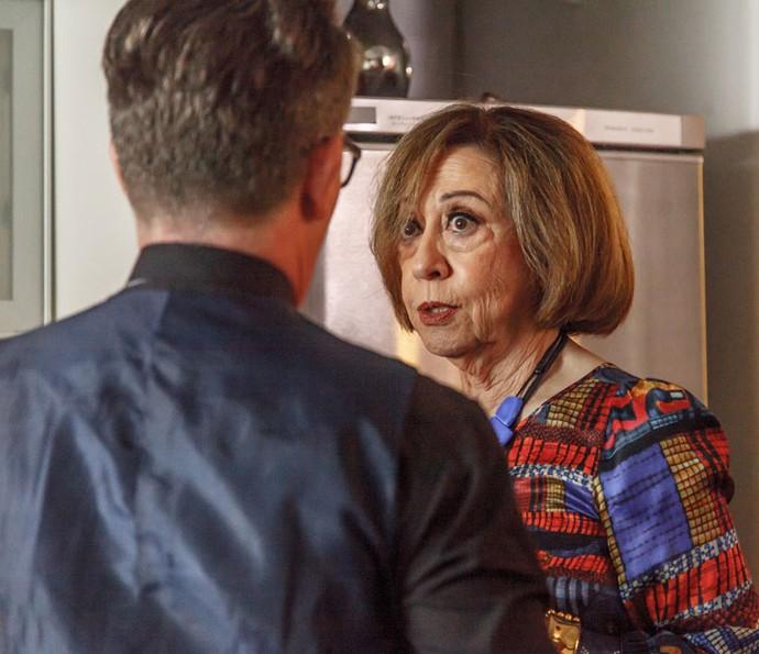 Fernanda Montenegro faz participação especial em 'Mister Brau' (Foto: Globo/Artur Meninea)