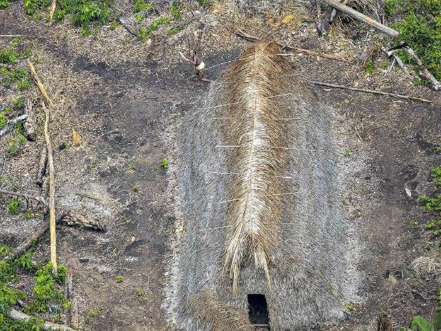 Fotos foram feitas durante sobrevoo em helicóptero (Foto: Ricardo Stuckert/Arquivo Pessoal)