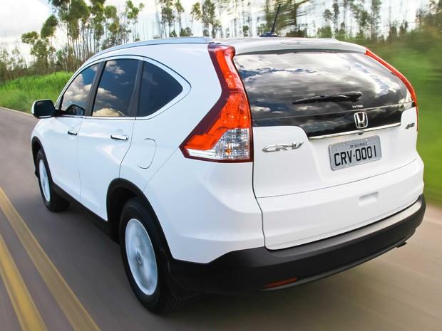 Novo Honda CR-V 2012 (Foto: Divulgação)