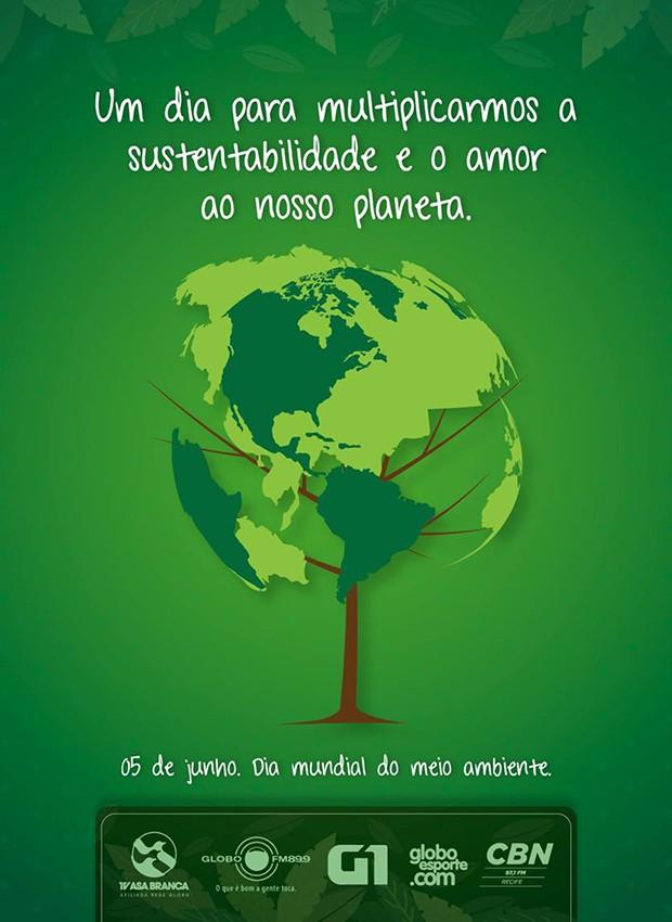 Sobre o Dia do Meio Ambiente (Foto: Divulgação/ TV Asa Branca)