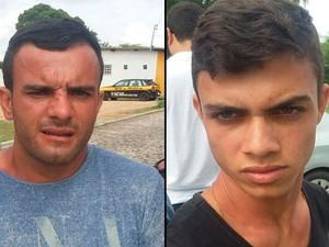 Daniel Ângelo Henriques e Eduardo Ângelo Mendes foram detidos após mandados de prisão  (Foto: Arquivo / Polícia Civil)