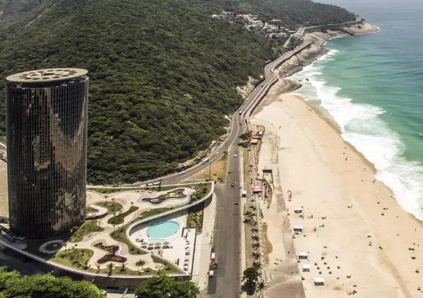 O edifício do Gran Meliá Nacional é assinado por Oscar Niemeyer (Foto: Divulgação)