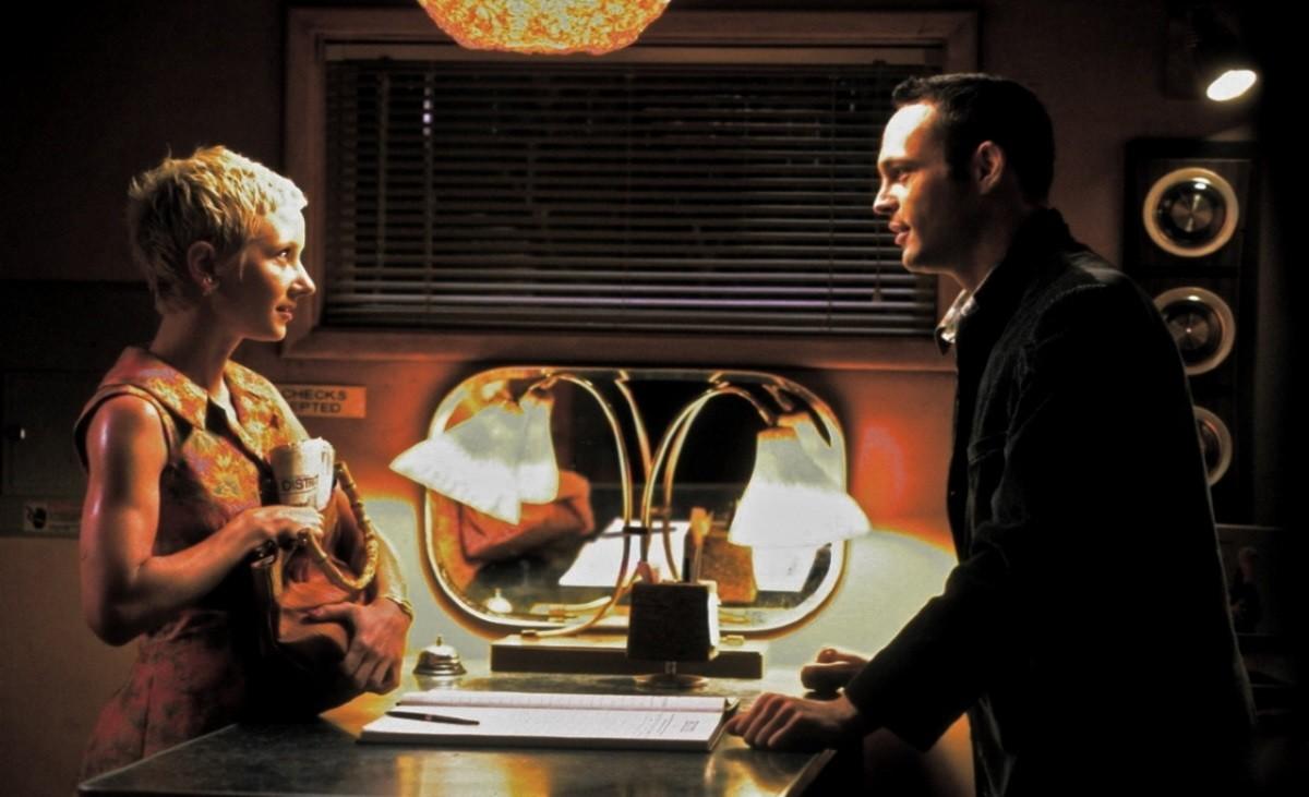 Anne Heche e Vince Vaughn no remake de 'Psicose' (1998) (Foto: Divulgação)
