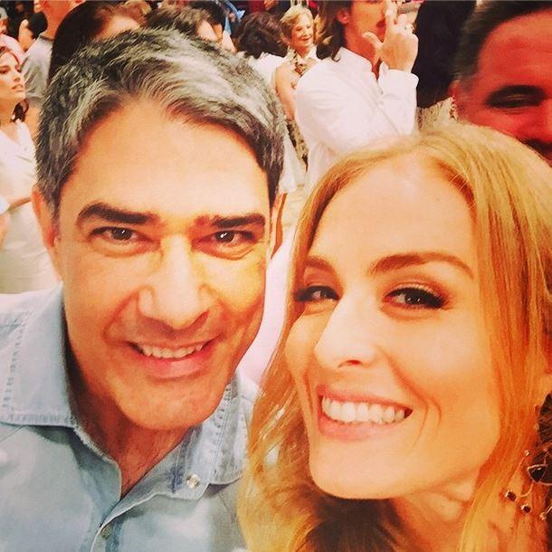 Angélica e William Bonner (Foto: Instagram/Reprodução)