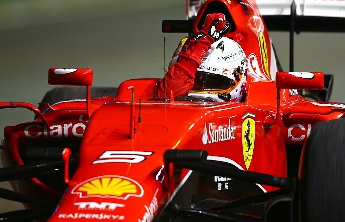 Sebastian Vettel vence o GP de Cingapura de 2015
