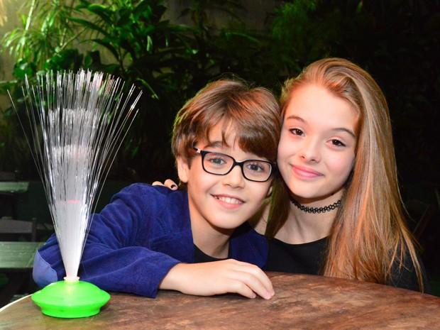 Xande Valois prestigia a amiga, Marcella Ramos (Foto:Rodrigo Mesquita/Divulgação)
