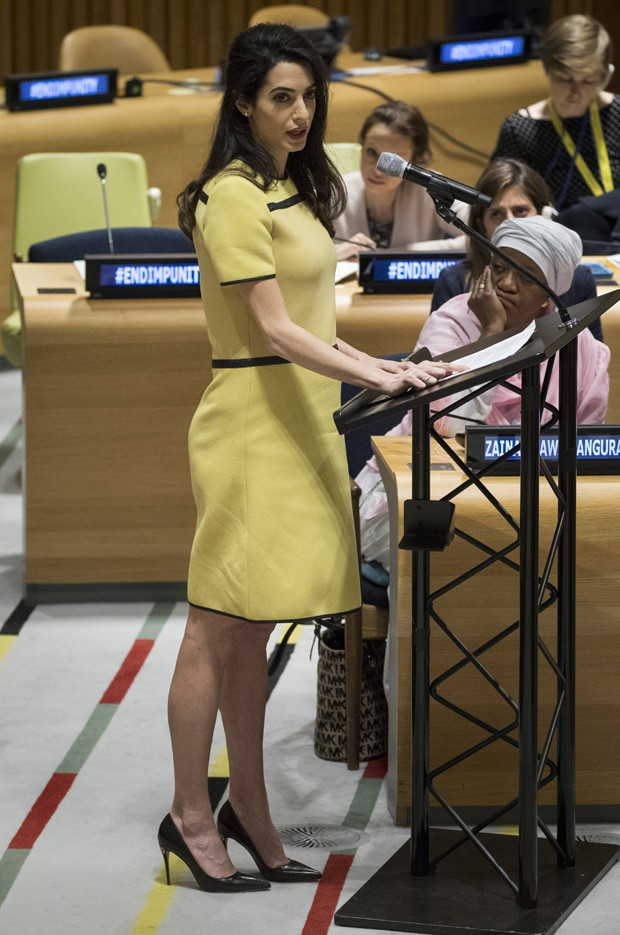 Amal Clooney (Foto: Drew Angerer/Getty Images)