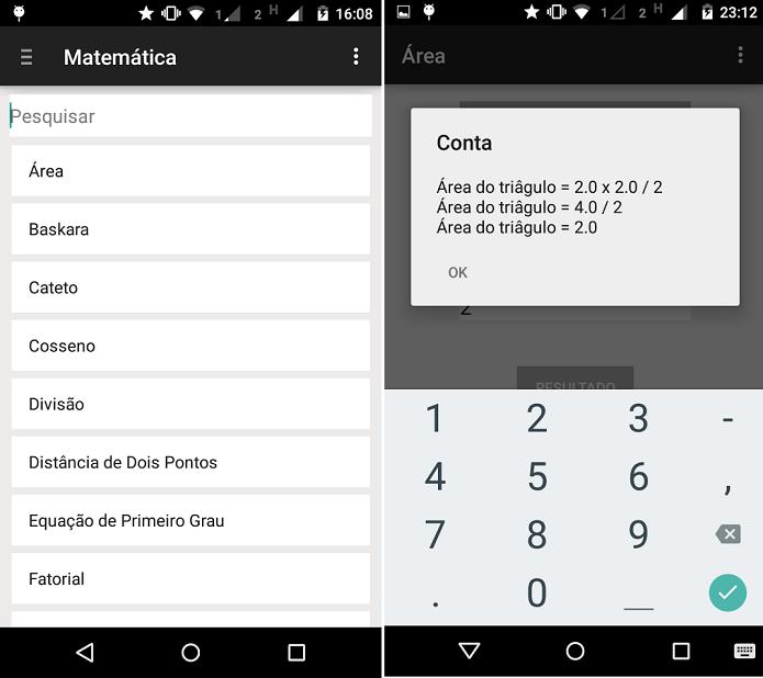 ColaMobile é um app para ajudar com contas de matemática (Foto: Divulgação)