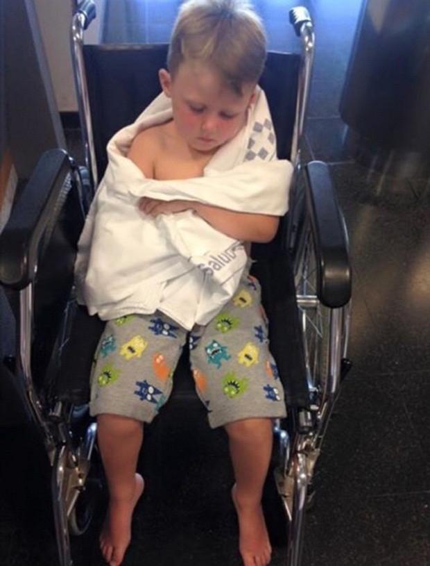 Jack no hospital (Foto: Facebook)