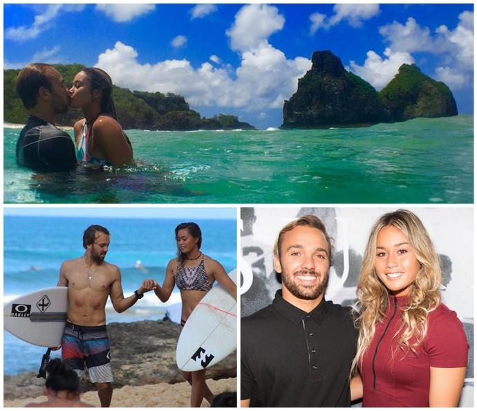 Caio Ibelli e Alessa Quizon estão juntos há três anos (Foto: Divulgação)