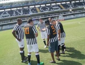 Coutinho Jogue na Vila (Foto: Divulgação/Assessoria Santos FC)