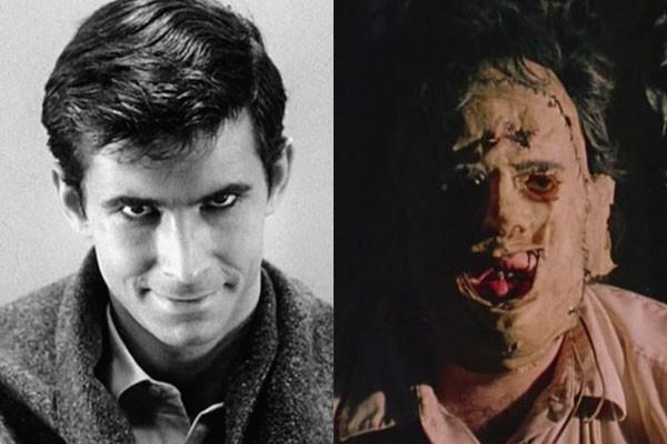 Norman Bates e Leatherface (Foto: Divulgação)