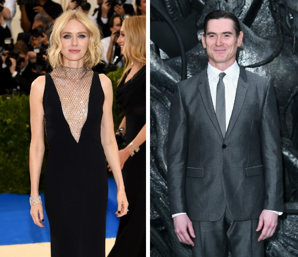 A atriz Naomi Watts e o ator Billy Crudup (Foto: Getty Images)