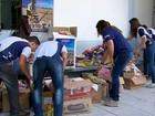 Em aulão do Enem, alunos doam alimentos para 'Natal Sertanejo'