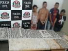 Casais são flagrados com grande quantidade de drogas em São Roque