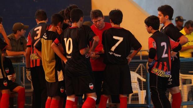 Seleção paraiba de futsal Sub-15 (Foto: Divulgação / CBFS)