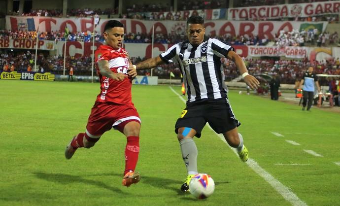 CRB x Botafogo - Série B (Foto: ITAWI ALBUQUERQUE - Agência Estado)