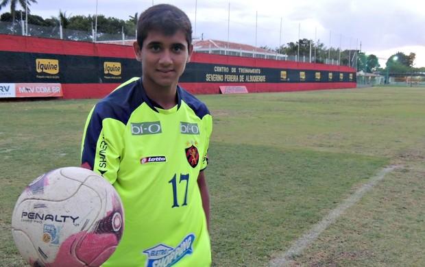 Everton Felipe - Sport (Foto: Elton de Castro)