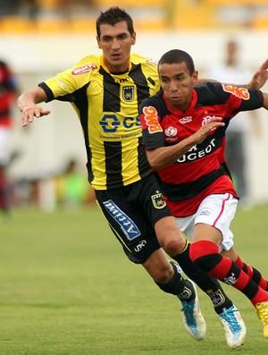 Rafinha Flamengo x Volta Redonda (Foto: Alexandre Vidal / Fla imagem)