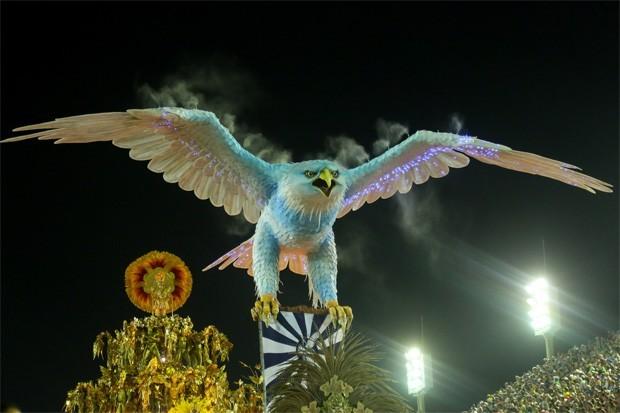 Portela, campeã do Carnaval 2017 (Foto: Brazil News)