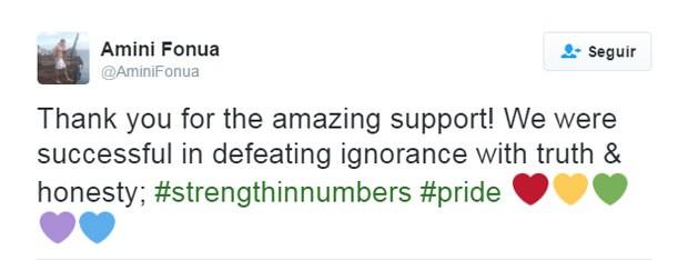 Nadador agradece pelo apoio que recebeu após criticar jornalista.  (Foto: Reprodução/Twitter)