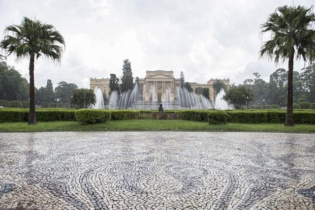 Museu do Ipiranga abre concurso para projeto de restauro  (Foto: Helio Nobre)