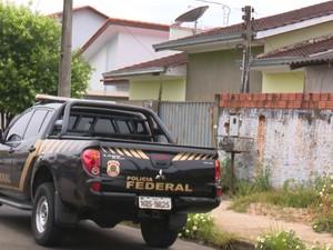 PF cumpriu mandados de prisão na casa do vereador de Vilhena (Foto: Rede Amazônica/ Reprodução)