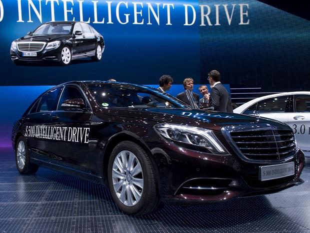 Mercedes-Benz S 500 Intelligent Drive (Foto: JOHANNES EISELE / AFP)