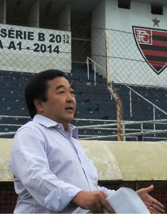 José Luís Kawaschi, o Zequinha, prefeito de Itápolis (Foto: Sérgio Pais)