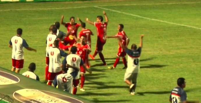 Picos x 4 de Julho - Campeonato Piauiense 2017 (Foto: Reprodução)