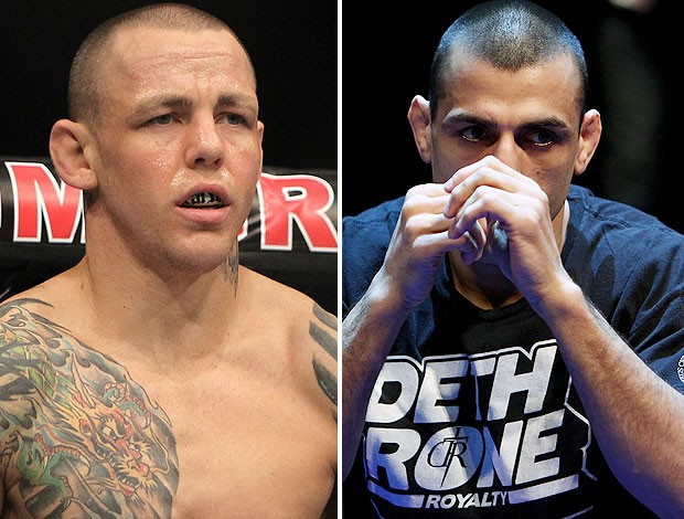 Ross Pearson e george Sotiropoulos, UFC (Foto: Agência Getty Images)