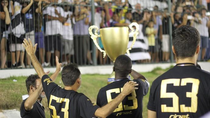 ABC campeão potiguar (Foto: Fabiano de Oliveira)