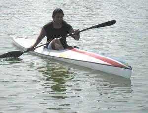 Denise Consuelo Oliveira Cubatense canoagem paralímpica (Foto: Divulgação / Prefeitura de Cubatão)