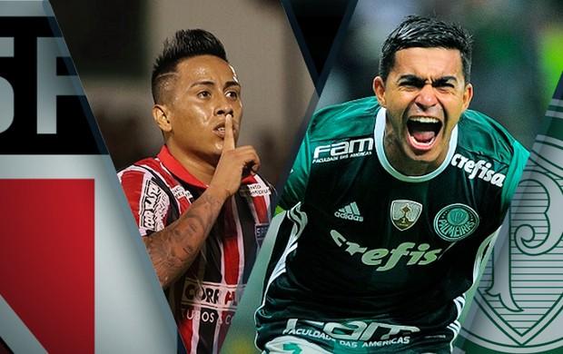 BLOG: Palmeiras x São Paulo: equilíbrio nos números do Choque-Rei