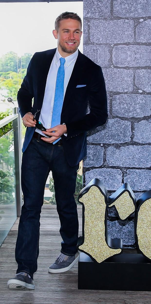 Charlie Hunnam (Foto: Manuela Scarpa/Brazil News)