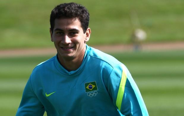 paulo henrique ganso brasil treino (Foto: Mowa Press)