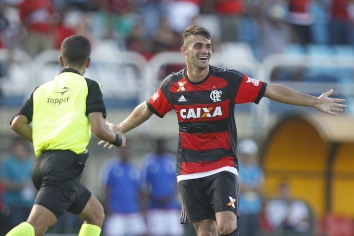 Felipe Vizeu Flamengo (Foto: Gilvan de Souza / Flamengo.com.br)