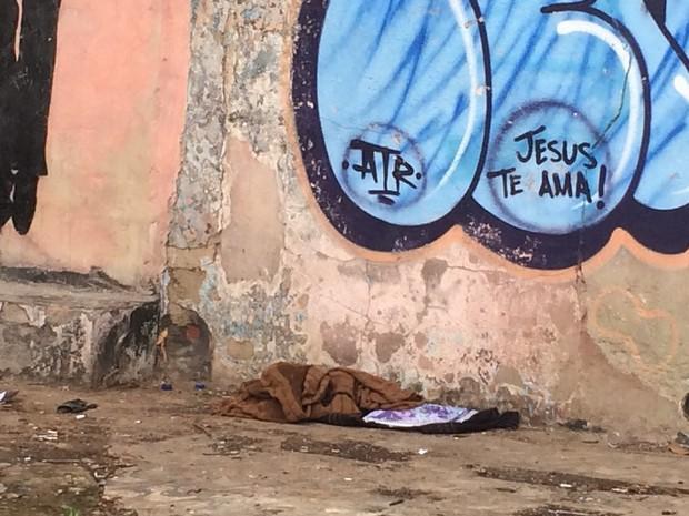 Maioria das pessoas em situação de rua costuma ficar em ruas da região central de Goiânia, Goiás (Foto: Fernanda Borges/G1)